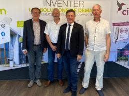 Transmission Groupe Arcom - Gilles Fallet et les associes fondateurs - 07-2020